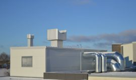 Kuressaare spordihoone ventilatsioonikamber